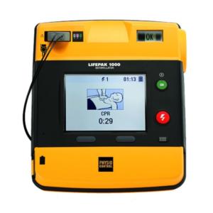 Physio Control Lifepak 1000 SE mit EKG-Ansicht