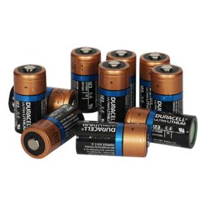 Zoll Lithium-Batterien, Typ 123 (10 Stück)