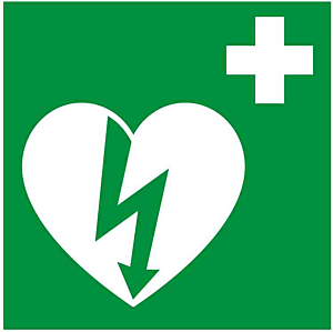 DefiSign ILCOR AED Sticker