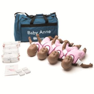 Laerdal Baby Anne 4-pack mit Tragetasche (dunkel)