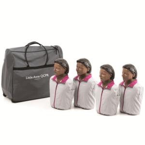 Laerdal Little Anne QCPR 4er-Pack (dunkel)